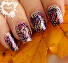 100 Nail Art 2011 Prettyfulz Fall Design
