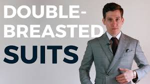 can short men wear double breasted suits youtube