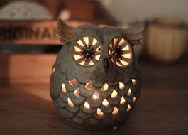 Owl Candle Holder images