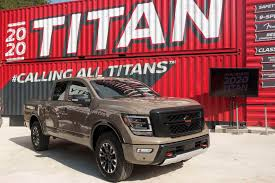 100 Old Nissan Trucks 2020 Titan Arrives With Better Looks More Tech