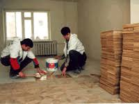 Unfinished Tiles Steps For Parquet Flooring Installation