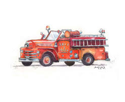 100 Fire Truck Wall Art Image Gallery Of View 6 Of 15 Photos