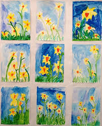 Grade ONEderful A First Teaching Blog Spring Art