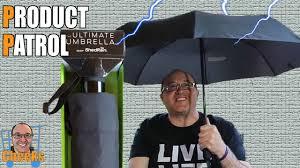 Shed Rain Umbrella Amazon by Ultimate Umbrella Shedrain Costco Umbrella Review Youtube