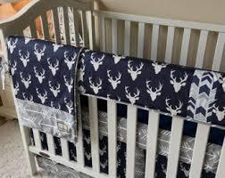 Baby Crib Bedding Sets For Boys by Deer Crib Bedding Etsy