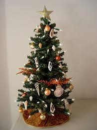 Fancy Minis Decorated Miniature Trees And Handmade Tree Skirts