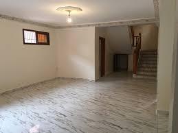 vide chambre bas de villa vide 3 chambres à louer route de casablanca