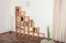 regal easy möbel s17 buche vollholz massiv natur 168 x 182 x 20 cm h x b x t
