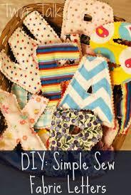 Best 25 Fabric letters ideas on Pinterest