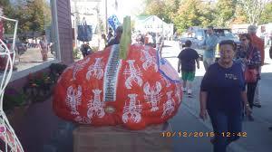 Largest Pumpkin Ever Weight by 2017 Damariscotta Pumpkinfest U0026 Regatta Maine U0027s Midcoast Regions
