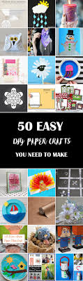 50 Easy DIY Paper Crafts You Need To Make
