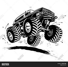 Cartoon Monster Truck Vector & Photo (Free Trial) | Bigstock Monster Truck Clip Art Clipart Images Clipartimagecom Cartoon Royalty Free Vector Image 4x4 Buy Stock Cartoons Royaltyfree Monster Truck Available Eps10 Vector Format With Illustrations Creative Market Red