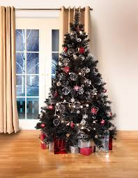 Black Canadian Spruce Luxury Artificial Christmas Tree