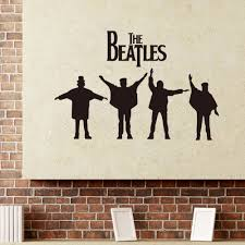 Wall Mural Decals Canada by Online Buy Wholesale Beatles Wall Murals From China Beatles Wall