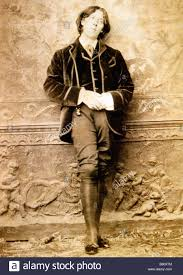 Oscar Wilde 1882 Photographic Portrait Of The Wit And Writer On His American Lecture Tour By Napoleon Sarony In New York
