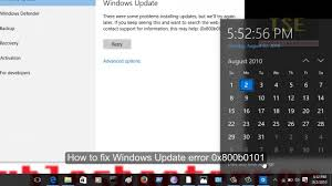 How to fix Windows Update Error 0x800b0101 There were some