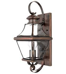 quoizel car8728ac carleton 1 light 18 inch aged copper outdoor