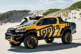 Toyota Hilux Tonka Concept Is The Ultimate Off-road Toy | Auto Express Tuscany Trucks For Sale New Alfa Romeo Release And Reviews Tonka Green Giant 1953 Steel Truck Toy Refer Semi Antique Toys For Vintage 3 Tonka Trucks Diecast Cement Truck Front End Loader Dump Set Of Nine Value Wow Blog And Halls Toybox Used Action Figures 1972 Aerial Fire Photo Charlie R Claywell Old Tough Flipping A Dollar That Guy Did It Why Cant I Old Less Rc Coent Off Tow Buy Online At The Nile Mini News Of Car