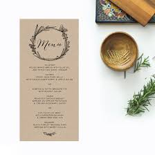 Brown Kraft Wedding Invitations Native Flora Butterly Florals Hadn Drawn Rustic Invites Australia Perth Sydney