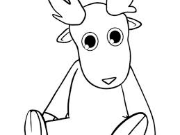 Cute Dasher Reindeer Coloring Pages Hellokidscom