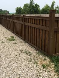 this beautiful cedar shadow box fence was built by heldt