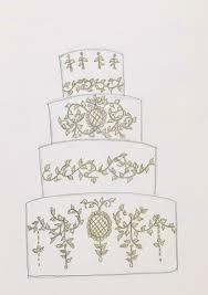 Wedding Cake Sketch on Cake Central
