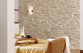 wandgestaltung stein schlafzimmer lajas steinpaneele haus