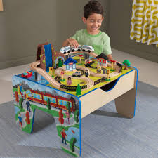 Waterfall Vanity Dresser Set by Kids Train Table Online Toy Store Kidkraft