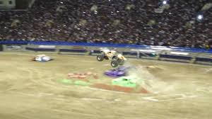 100 Monster Trucks El Paso Jam 2010 Tx Maximum Destruction Freestyle YouTube