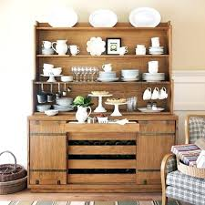 Modern Dining Room Buffet Hutch Barn Door Farmhouse Open Storage Mod And Mo