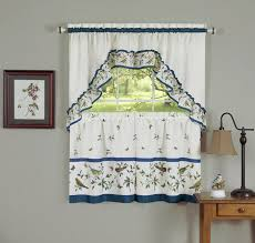 Mason Lovebirds Julia Kitchen Window Curtains