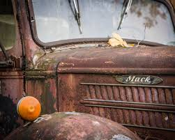 100 Old Mack Truck Fine Art Print 2 Junkyard Etsy