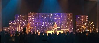 Pallet City Stage Design Worship Pinterest