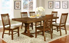 Furniture Of America Dark Oak Karl Rustic 7-Piece Dining Set Details About Walker Edison Solid Wood Dark Oak Ding Chairs Set Of 2 Chh2do New Newfield Bentwood Ding Chair Dark Elm Koti Layar Chair Grey Black Amazoncom Trithi Fniture Rancho Real Sun Pine 7pc Sturdy Table Wooddark Dark Lina In Natural The Cove Arrow Back 4 Chairs Nida Rubber Wooden Legs Staggering 6 Golden Qtquot With Fascating Small And Bench Sets