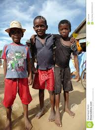 Malagasy Children In Morondava Madagascar Editorial Stock Image