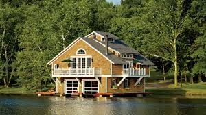 100 Lake Boat House Designs A ShingleStyle House In Missouri Is Reimagined As A