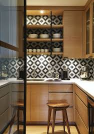 Black White Kitchen Tiles