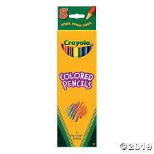 8-Color Crayola® Colored Pencils