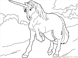 Unicorn Coloring Page 13