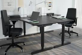 Ikea L Shaped Desk Black by Ikea Computer Desks Home Office Modest Concept Outdoor Room New In