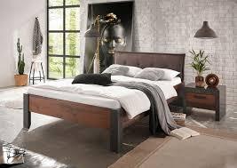 bett einzelbett nachtkonsole 140x200cm matera mix dekor rahmenoptik