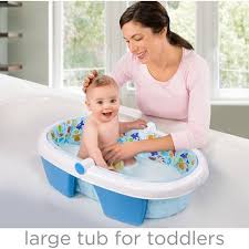 Inflatable Bathtub Liner For Adults by Summer Infant Foldaway Baby Bath Walmart Com