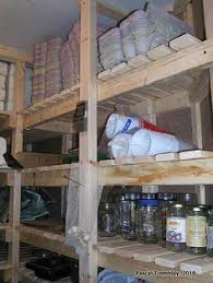 wooden shelves in positive cold storage room diy a cheap cold
