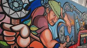 the chilean muralists who defied pinochet bbc news