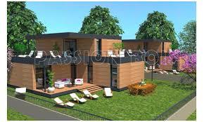 chalet maison en kit photo de maison en kit toit plat