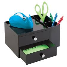 Desk Drawer Organizer Amazon by Amazon Com Mdesign Office Supplies Desk Organizer For Paper Clips