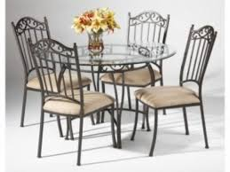 Glass And Wrought Iron Kitchen Table Sets   Http ..   Chair Corner