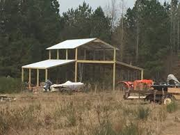 MiniFarm BARNS, LLC Home Steel Truss Pole Barns Vaulted Clearspan Web Buildings Northwest Llc Open Shelter And Fully Enclosed Metal Smithbuilt Barn Kit Prices Strouds Building Supply Decorations 84 Lumber Garage 30x40 Roof Beautiful Roof Trusses Wood How To Build A Pole Barn Garage Pinterest Used Prefab For Sale