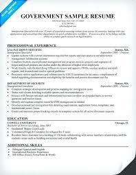 Government Resume Templates Sample For Jobs Federal Builder Job In Format Template