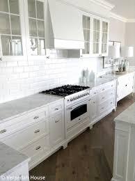 calcutta marble backsplash transitional kitchen william
